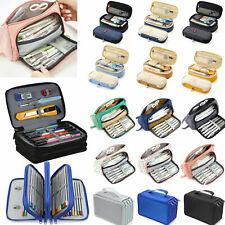 Boy Girl Pencil Case Pouch Box Large Capacity School Supplies Makeup Storage Bag