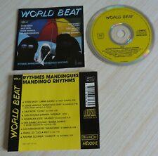 RARE CD ALBUM WORLD BEAT RYTHMES MANDINGUES MANDINGO 9 TITRES VOL. 4