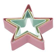 Stars Easy Clean Metal Pastry & Cookie Cutters