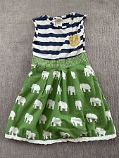 PERSNICKETY Elephant Play Dress Size 6