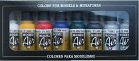 Airbrush Farben - Vallejo Model Air Basic Farbe Set (8 X 17ML Flaschen)