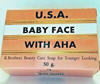 K.BROTHERS U.S.A BABY FACE SOAP - ANTI ACNE - ANTI AGING - FREE WORLDWIDE P&P!!!