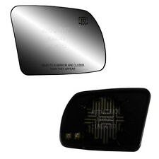 07-12 Sedan Passenger Side Mirror Glass With Back Plate - Heated