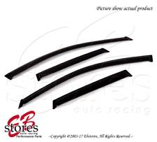 For Acura RDX 2007-2012 Outside-Mounted Dark Smoke JDM Window Visors 4pcs