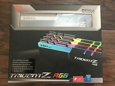 G.SKILL TridentZ RGB Series 32GB (4x8GB) 288-Pin DDR4 F4-3200C16Q-32GTZR Memory