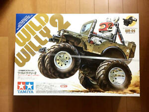 TAMIYA 1/10 RC Wild Willy 2 Assembly kit Unassembled