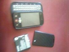 T-MOBILE Motorola Cliq MB200 Black Clean ESN And Wall Plug slid phone