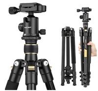 Aluminium Camera Tripod Compact Light Quick Release Plate For DSLR Canon Nikon