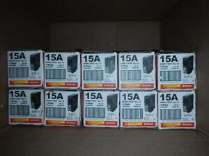 SQUARE D HOMELINE HOM115CP 15 AMP Circuit Breaker (10LOT) SameDayShipNEW