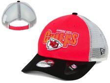 NWT New NWT Kansas City Chiefs New Era NFL Trucker Joy Youth Snapback Hat Cap GD