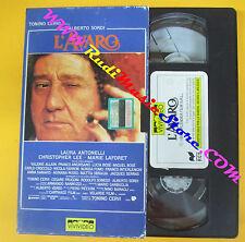 VHS film L'AVARO Alberto Sordi Antonelli Bose Tonino Cervi VIVIVIDEO(F135)no dvd
