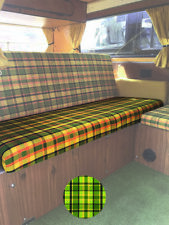 T2 Westfalia Full Width Rock and Roll Bed/ Seat bottom Cover in Green C9703G