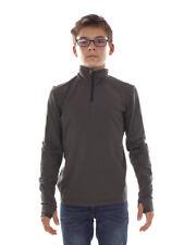 Brunotti Fleece Pullover Function Top Jumper Grey Terni Jr Regular