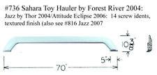 Forest River RV  Fender Skirt FIBERGLASS  #736 Grey **SEE DESCRIPTION**