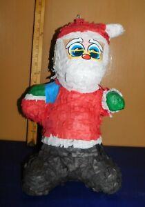 Christmas Santa Claus Pinata Party Game Supplies Decorations