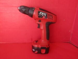 """SKIL 12V CORDLESS DRILL 2465-02 3/8"""" With Battery NO Charger"""