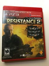 Resistance 2 Sony PlayStation 3 PS3 Game Complete Tested