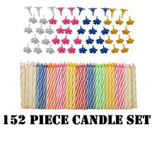 152 Birthday Party Candle Set Cake Topper Anniversary Decoration 102 Candles