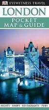 DK Eyewitness Pocket Map and Guide: London, DK Travel, Very Good Book
