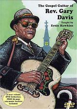 The Gospel Guitar of Rev. Rev Gary Davis DVD Learn Play