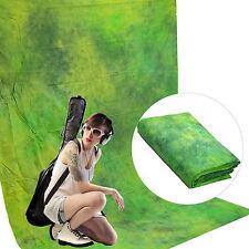 Fondale Background Professionale in Cotone Creato a Mano DynaSun W089 DreamGreen