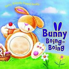 Bunny Boing Boing Board Book, New Touch and Feel Cover
