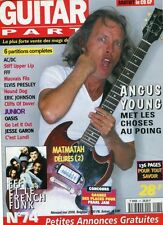 Guitar Part #74 -AC/DC / Angus YOUNG- FFF, Scotty Moore, Eric Johnson,…