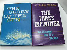 2 BookTHE THREE INFINITIES to Know, to Do, to Be-THE GLORY OF THE SUN Mormon LDS