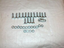 M8 x 25MM Nuts Bolts Washers x 16 Total
