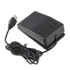 USB Foot Switch PC Computer Pedal Keyboard Action HID For Gaming Working US Ship