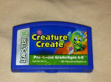 """Leap Frog Leapster """"CREATURE CREATE"""" Game Cartridge only"""