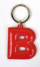 Marc by Marc Jacobs Alphabet Letter Initial Key Ring Chain Charm Holder Red B