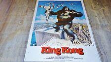 KING KONG !  affiche cinema 1976