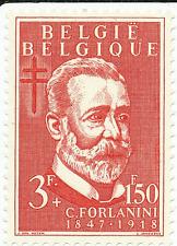 """Belgique  1953  N°935   """"Tuberculose""""  Savant : Carlo Fontanini (IT) (1847-1918)"""