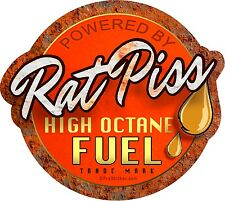 "ProSticker 756.5 (One) 5"" Rat Rod ""Rat Piss High Octane Fuel"" Decal - Parts"