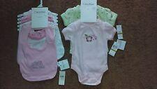 Calvin Klein Baby Girl 5-piece Bib Set & 2-piece Layette Set ($54.00 tag price)