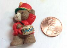 Hallmark Christmas Drummer 1992 Soldier Teddy Bear Merry Miniature collectible