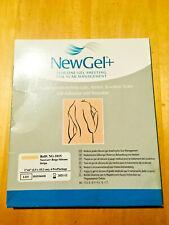 "NewGel+ Silicone Gel Sheeting for Scar Management -5""x6"" Beige, NEW in Box"