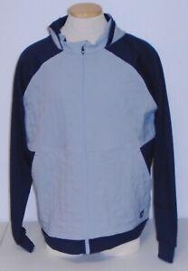 NWT Footjoy Full Zip Hybrid Hoodie Golf Jacket, Black / Charcoal, Large, 25269