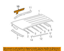 TOYOTA OEM 03-09 4Runner Roof-Outer Rail Right 6121135050