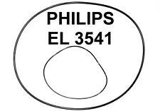 SET BELTS PHILIPS EL3541  REEL TO REEL EXTRA STRONG NEW FACTORY FRESH EL 3541