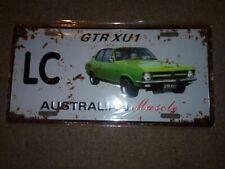 LC GTR XU1 TORANA  Metal Tin License Number Plate  31cm X 20cm