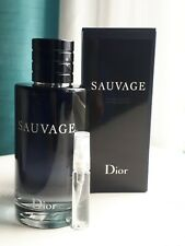 Dior Sauvage EDT 5 mL (.17 oz) Sample Glass Spray Bottle