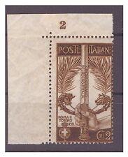 REGNO 1911  -  UNITA'  D'ITALIA   CENT.  2    NUOVO  ** NUMERO DI TAVOLA