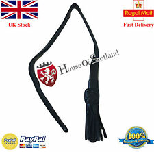 NEW BRITISH INFANTRY TAN BLACK LEATHER SWORD KNOT /British Army Sword Knot Black