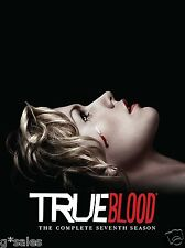 True Blood ~ Complete Seventh & Final Season 7 Seven ~ BRAND NEW 4-DISC DVD SET