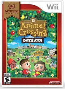 Animal Crossing: City Folk [Nintendo Selects Wii Life Simulation Sandbox] NEW