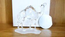 Swarovski Silver Crystal Glass - The Camel - #247683 - Boxed