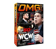 WWE - OMG! Volume 2 - The Top 50 Incidents In WCW History DVD (3 Disc Set)