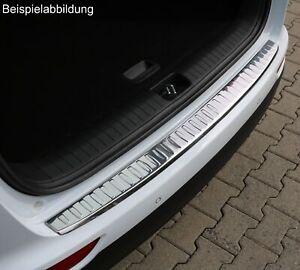 Ladekantenschutz für VW Passat 3G B8 Variant 14- Edelstahl Chrom glänzend